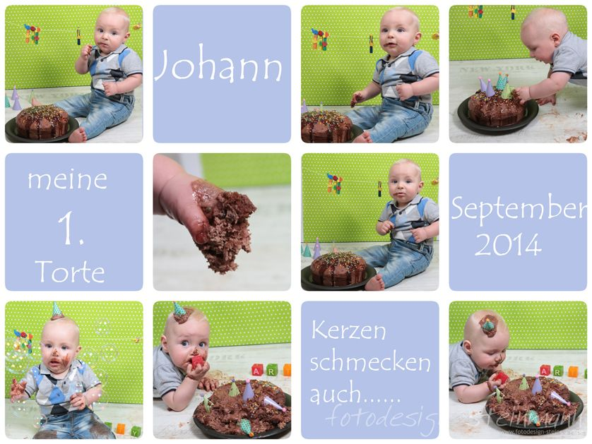 Johanns Cake-Smash-Shooting